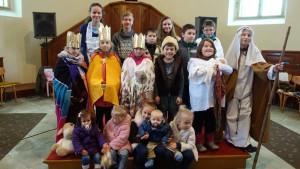 skupinka deti